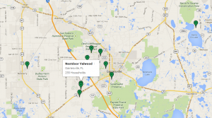 Several Alachua County neighborhoods are active on NextDoor, a website and phone app that helps neighbors connect with each other.