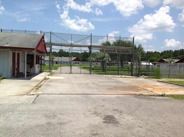 The site of Gainesville's former prison and proposed homeless shelter, as seen in a June 2013 file photo.