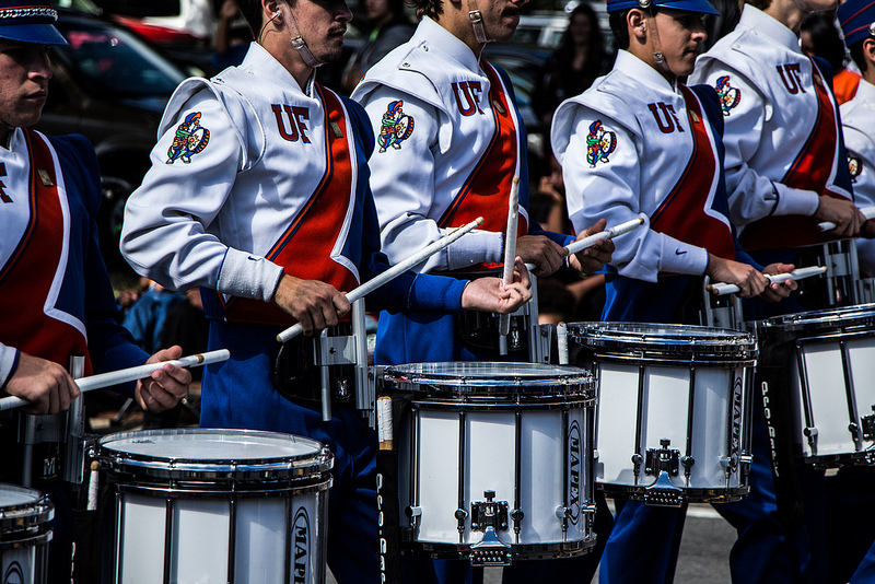UF marching band