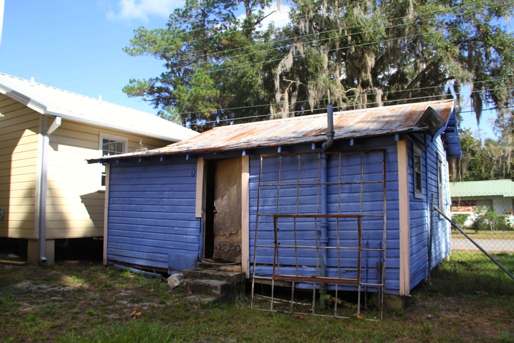 Neighboring shotgun home is part of phase two of the three-phase rehabilitation efforts for the Cotton Club Museum and Cultural Center.