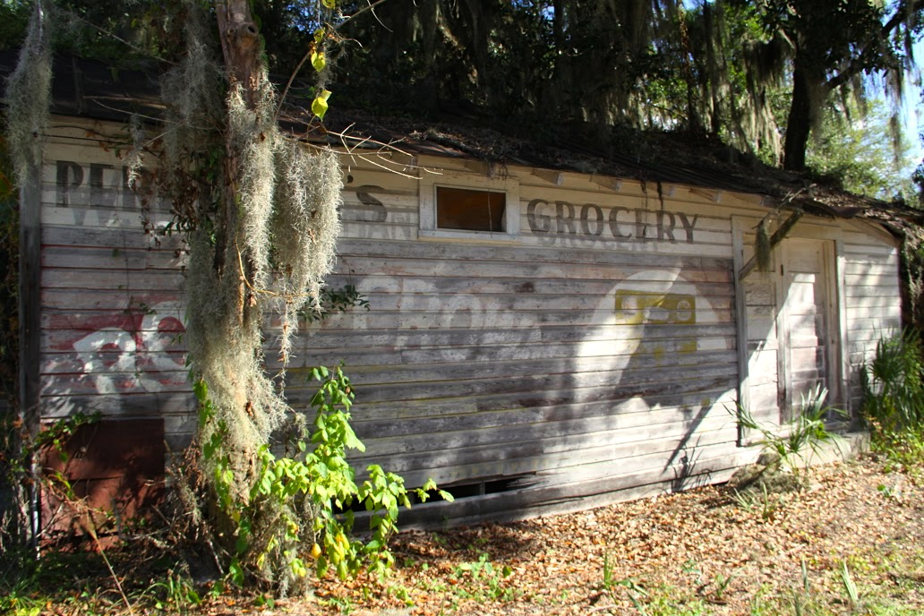 Next to the main building, Perryman's Grocery sits in its original state. The renovation for this site is part of phase two of the three-phase project.