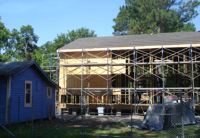 The Community Redevelopment Agency began renovating the main building for the Cotton Club Museum and Cultural Center project in 2007.