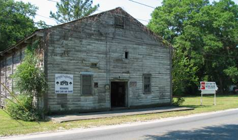 The Cotton Club's main building was in a deteriorated state before the renovation project began in 2004. The building is now up to code.