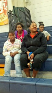 Belinda Quarterman and her family