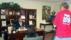 Kyan Ware, legal affairs chairman and spokesman for the Florida Civil Rights Association, was interviewed by Fox News 35 in Orlando. Ware told WUFT FCRA saw similarities between Mary Alexander's case and another situation in Orlando in which the civil rights organization believed barbershops were illegally searched.