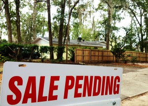 Real estate in Northeast Florida is showing signs of improvement.