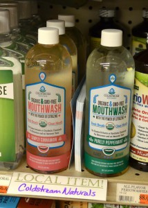 Coldstream Naturals, the only ​USDA certified organic oral care products on the market, are on the shelf in five Gainesville stores, including Ward's Independent Supermarket.