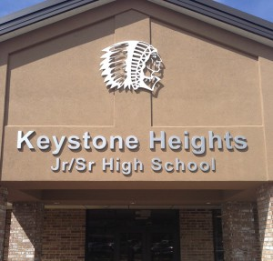 Grief counselors were sent to Keystone Heights Junior/Senior High School, 900 Orchid Ave., in Keystone Heights. Clay County School District is undertaking measures to improve their suicide prevention and intervention methods.