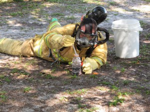 The Levy County Fire Department Haz-Mat unit was activated to dismantle and collect evidence from a Chiefland meth lab.