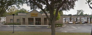 The Wells Fargo on Newberry Road was robbed Friday afternoon.