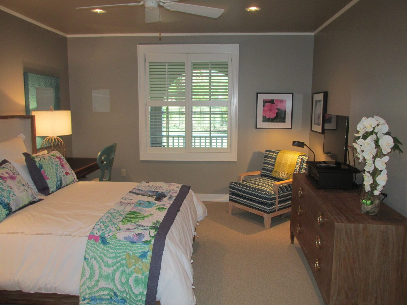 One of the 20 suites the new Fisher House will provide families.