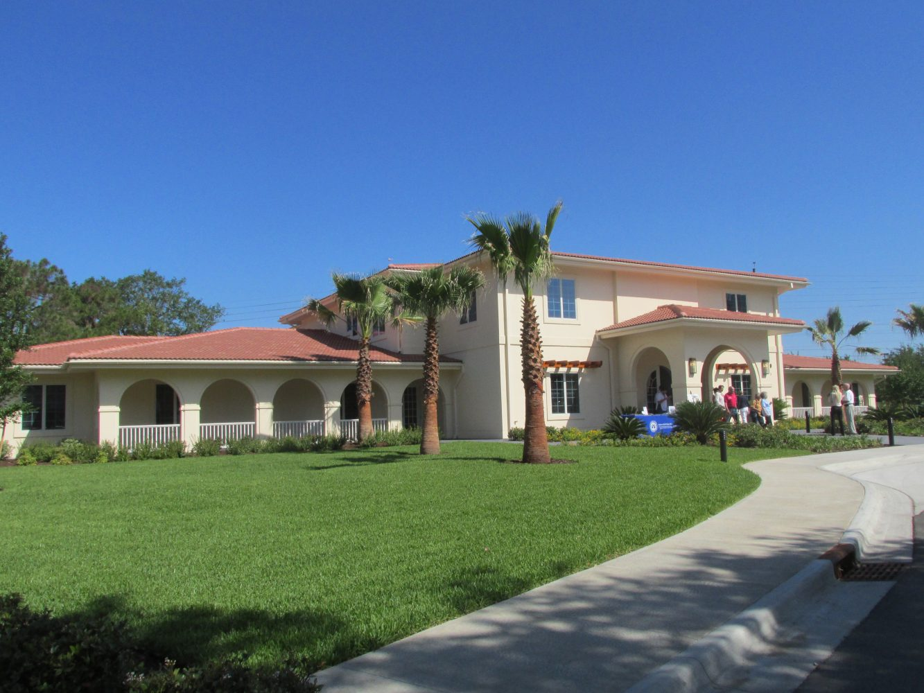 The new Fisher House located at 5106 NW 8th Ave, Gainesville, FL 32605. Just across the street from the Malcom Randall VA Medical Center