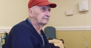 Lester Poole, 94, is one of more than 170 residents at Ocala Health and Rehabilitation Center. The center as been steadily losing volunteers over the past year.