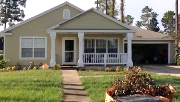 Julia Minors had minor renovations, including a new paint job, done on her home Sept. 11. Minors was one of the Gainesville residents to receive free paint and low-cost renovations through the Partnership for Paint.