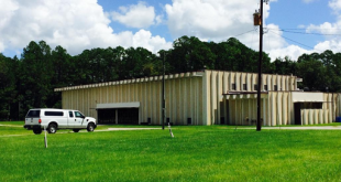 Existing building at the Alachua County Fairgrounds located at Waldo Rd. and NE 39th Ave.