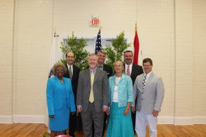 """The City of Gainesville Commission tested a """"phone-conference"""" town hall meeting. This allows residents to listen, and participate in, town hall meetings from the comfort of their own home."""
