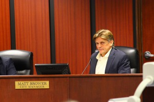 The Ocala City Council voted not to renew Matthew Brower's contract as city manager on Tuesday. Brower's current contract will expire on Dec. 21.