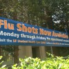 The University of Florida Student Health Care Center is offering free flu vaccinations for university students with a student ID.