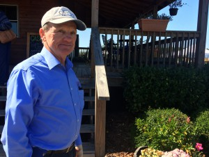 Ken Patterson, owner of Island Grove LLC., before heading to the Island Grove farm in South Florida on the first cold day of the season.