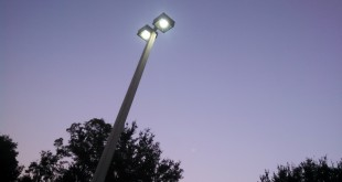 The Alachua County Energy Management team is upgrading lights in county-owned building parking lots to light-emitting diode (LED). County officials estimate the new update to save the county a total of $10,000 annually on electricity bill.