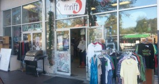 One of the two Thrift 5 stores owned by Pledge 5 in Gainesville. Pledge 5 budgeted the 2014 Gator Stompin' event off projected attendance increases and revenue from the thrift stores, but was unable to meet the expected numbers.