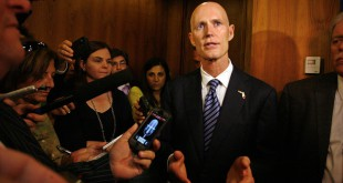 Gov. Rick Scott signed Senate Bill 1030, approving a noneuphoric strain of marijuana, nicknamed Charlotte's Web in June. Image Courtesy of Tampa Bay Times.