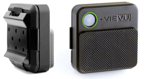 An example of the VIEVU body cameras worn by Ocala police officers. Photo courtesy of VIEVU®.