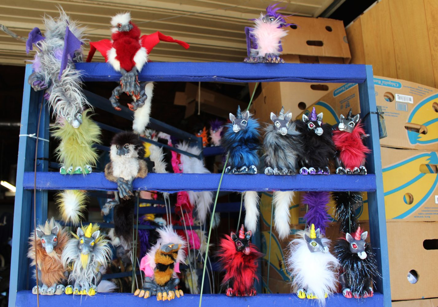 Ocala Artisan S Puppets Carved Up For Adoption At Medieval