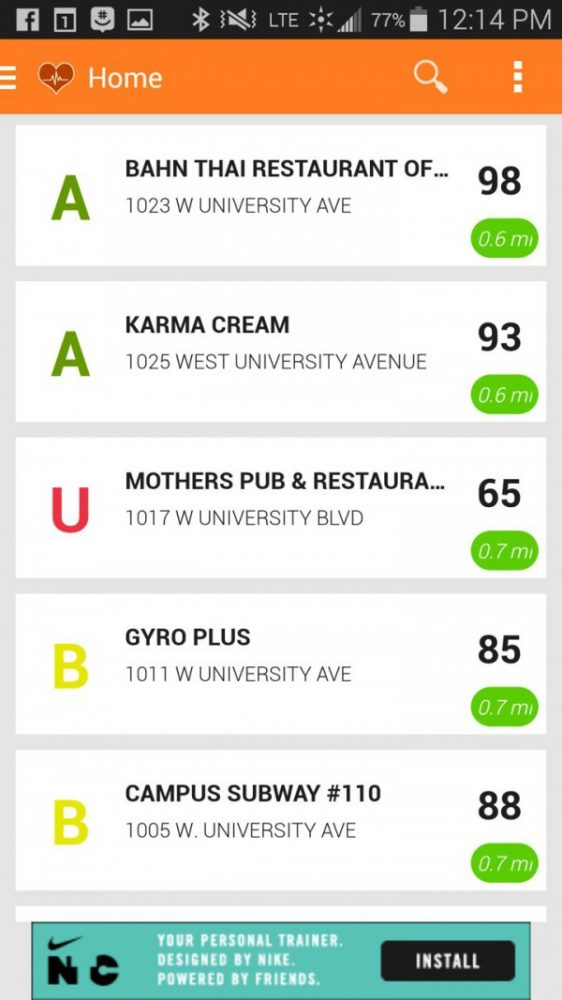 Who Does Health Inspections On Fast Food Restaurants