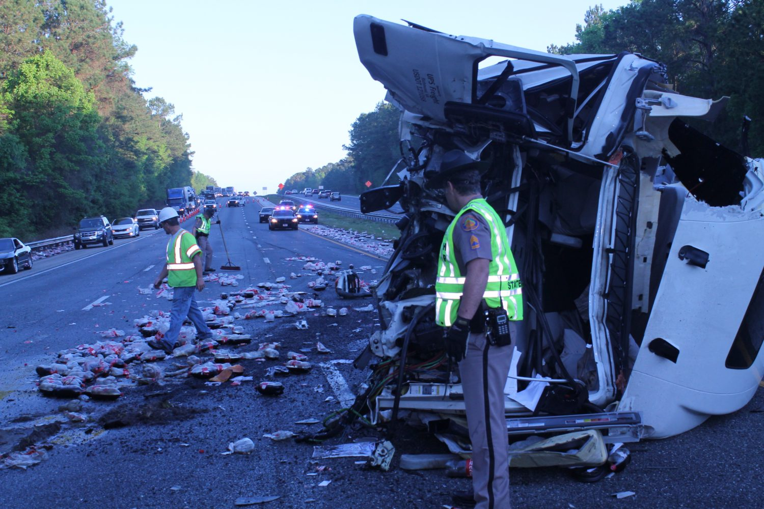 I-75 Lanes Clear After Early Morning Accident – WUFT News
