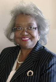 Yvonne Hinson-Rawls, one of the candidates for District 1 commissioner. The current District 1 commissioner, Hinson-Rawls studied special education at the University of Florida before working as a principal in Miami.