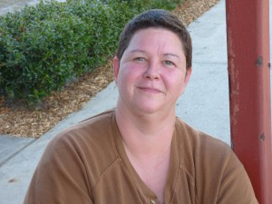Lisa Lee Savage has experienced substance abuse and served time in prison. With help from local homeless shelter GRACE Marketplace, though, she overcame those challenges to make a new life for herself. Photo courtesy of Lisa Lee Savage