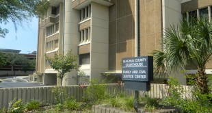 The Alachua County Clerk of Court, located at 201 East University Ave., remained closed Saturday, April 18 during Operation Green Light. Assistant Clerk of Court Edward Stiles said that it would be too expensive to remain open for the promotion.