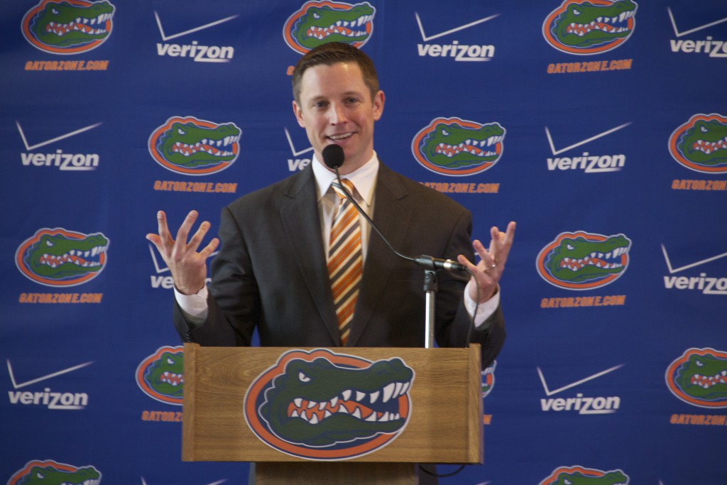 Michael White was formally introduced as the new Florida head men's basketball coach. White will replace Billy Donavon who spent 19 seasons as head coach for the Gators.