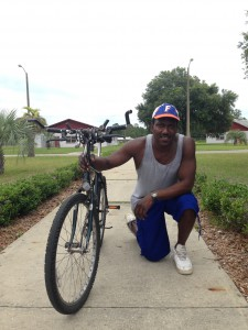 "Troy Butler, former UF football player, said, ""Why am I going to waste time on a bust when I can go on my bike twice as fast?"""