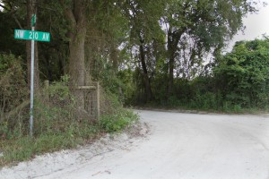 The dirt road of NW 210 ave will begin construction to be paved in 2016.