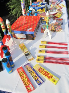 The U.S. Consumer Product Safety Commission (CPSC) released new data Wednesday, June 22, 2011 that shows during the 30 days surrounding July 4, 2010 Sparklers, bottle rockets and small firecrackers sent about 1,900 injured consumers to emergency rooms. CPSC's statistics show that in 2010 about 8,600 consumers ended up in hospital emergency rooms due to injuries involving legal and illegal fireworks.