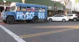 "Physics Bus Gainesville has hosted events around the area to connect people with science. ""It supports our mission to make science accessible to everyone and to bridge the gap,"" said Medina."