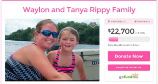 A GoFundMe page has been established for the family, and raised more than $22,000 as of mid-day July 8.