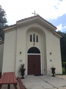 St. Elizabeth Greek Orthodox Church is the only Greek Orthodox church in Gainesville. The small building is more than enough for the diverse local Greek community.