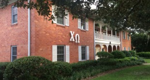 Chi Omega House at University of Florida