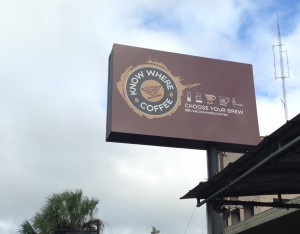 Know Where Coffee plans to add beer and wine to its offerings in November - something the owner believes will attract more college students.
