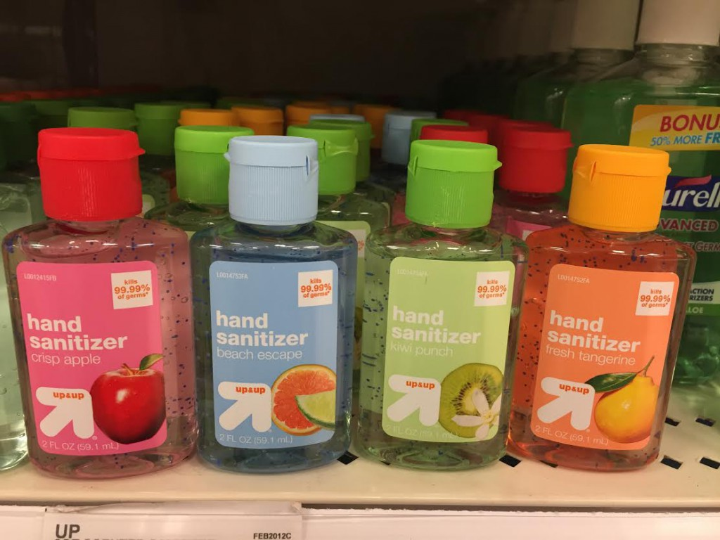 Flavored Hand Sanitizers Dangers