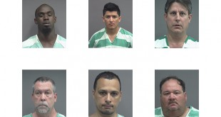 Second slide, top left to bottom right: Courtney Grant, 27, of Williston, FL. Castillo Herrera, 28. Kevin Kasper, 51, of Lake City, FL. Patric Koenigstein, 56, of Gainesville. Ricardo Lopez Ricardo, 47, of Gainesville, FL. Larry Lucas, 43, of White Springs, FL.