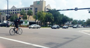 Despite Alachua County's bike-friendly reputation, the area was listed as one of the top 15 high-priority counties in Florida for injuries and fatalities, according to CDC report.