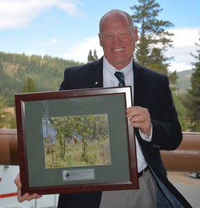 Jim Karels, director of the Florida Forest Service, recently received an award from the National Association of State Foresters for his success in doing prescribed burns in Florida. Photo courtesy of the National Association of State Foresters.