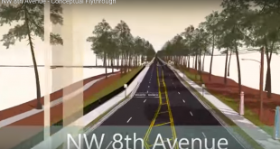 Northwest 8th Avenue is in the beginning phases of a major facelift that will not only improve the physical appearance of the road but the future safety of pedestrians.