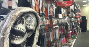 Halloween pop-up stores are temporary, but profitable. Halloween sales are expected to reach $7 billion in the US this year, according to the National Retail Federation. Photo by Connor Ingalls /WUFT News.