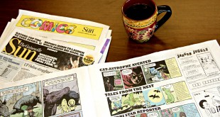 "More than 31,000 copies of the annual report comics were distributed through the Gainesville Sun on Sunday, March 29 and other locations. ""It's a piece of art,"" Nathalie McCrate said. ""It's something you want to keep and hold onto."""