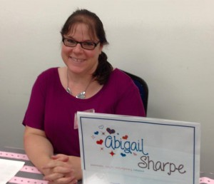Author and NaNoWriMo participant, Abigail Sharpe was motivated to write her first novel after winning her first NaNoWriMo in 2005
